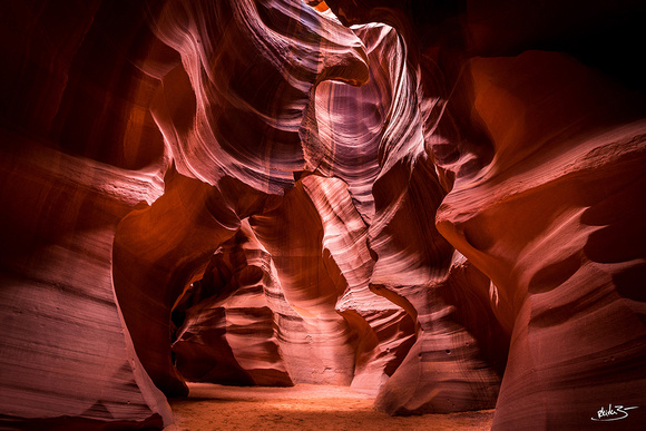 Navajo Cathedral | Antelope Canyon