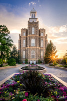 Starburst | Logan Utah Temple
