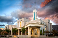 Temple After the Storm | Mount Timpanogos Temple