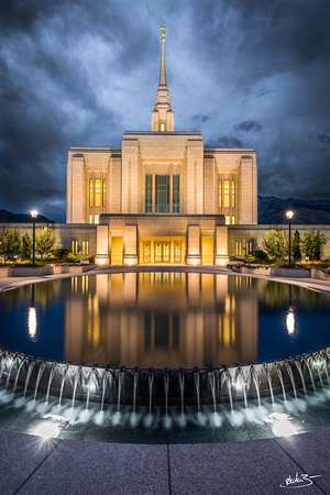 Shelter from the Storm | Ogden Utah Temple