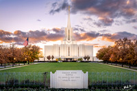 Golden Autumn | Jordan River Utah Temple